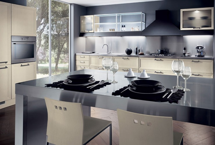 Supermobili Acilia presenta la cucina Focus | Supermobiliroma