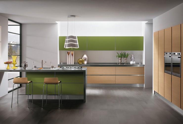 Supermobili acilia presenta la cucina scenery - Costo cucine scavolini ...