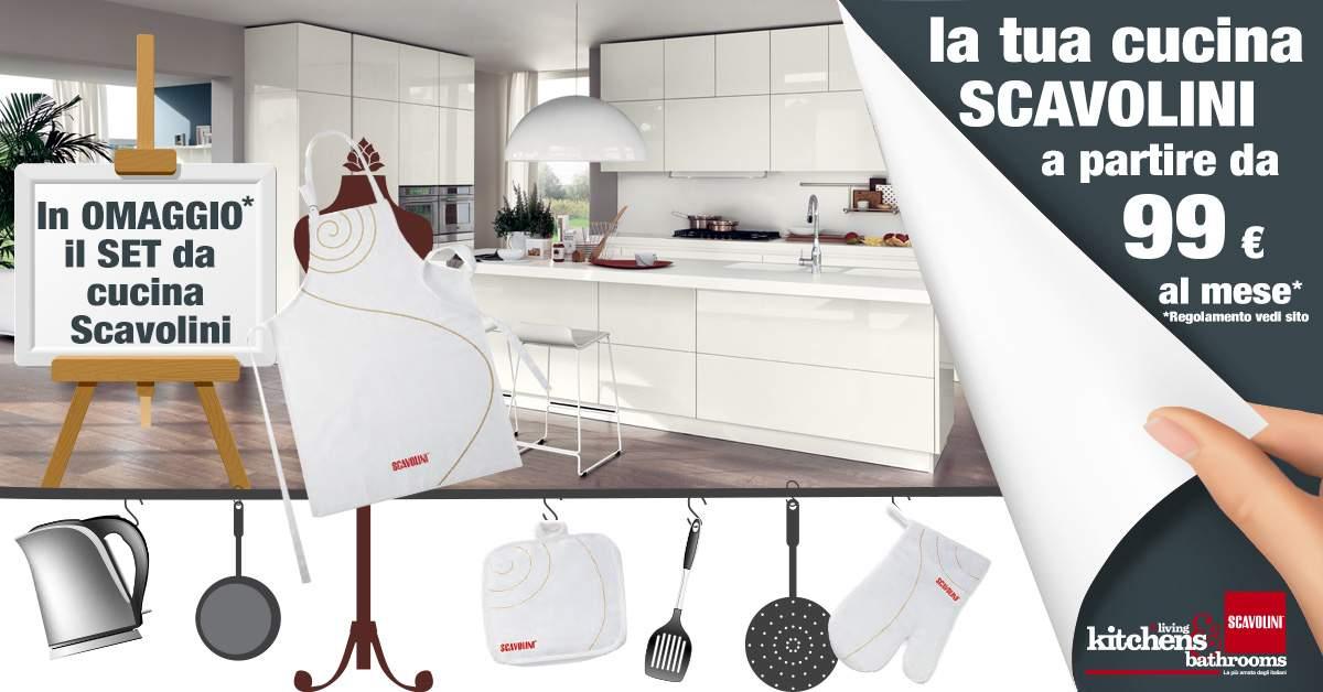 Da supermobili il set da cucina scavolini in omaggio - Preventivo cucina scavolini ...